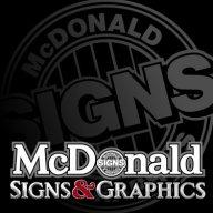 McDonald Signs
