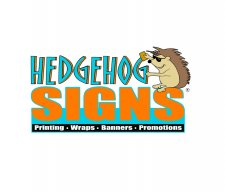 Jim with Hedgehog Signs