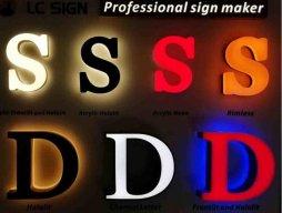 China signage Maker