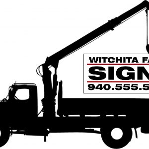 Whitchita Falls Signs Logo