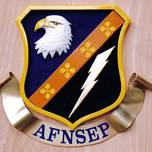 US Air Force Squadron Sign
